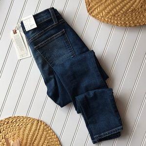 NWT Current/Elliott high waist stiletto Jean